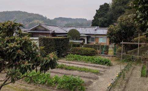 平屋一軒家家庭菜園付き