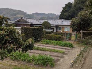 田舎移住菜園付き平屋