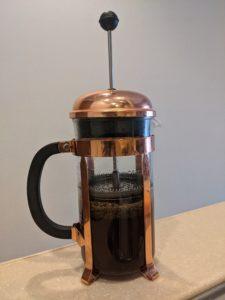 ゴミなしフレンチプレスコーヒーメーカー