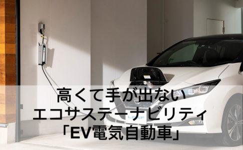 EV電気自動車自宅で充電